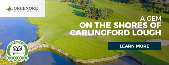 Gyles Quay Caravan Park - Greenore Golf Advert