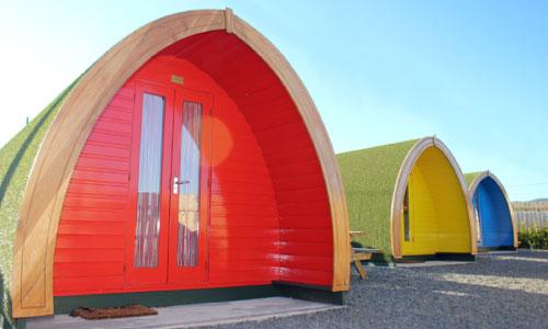 Gyles Quay Caravan Park - Glamping Pods